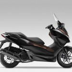 2015 Honda Forza 125 Pearl Nightstar Black with Castagna Brown_1