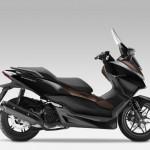 2015 Honda Forza 125 Pearl Nightstar Black with Castagna Brown_1