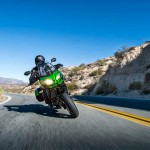 2015 Kawasaki Versys 650 LT in Action
