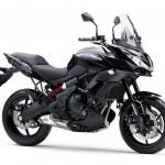 2015 Kawasaki Versys 650 Metallic Spark Black Flat Ebony