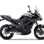 2015 Kawasaki Versys 650 Metallic Spark Black Flat Ebony_1