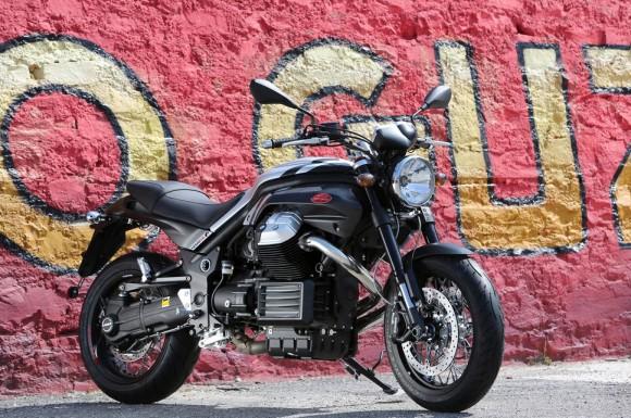 2015 Moto Guzzi Griso 8V SE Black Devil