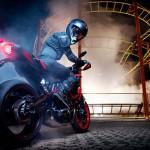 2015 Yamaha MT-07 Moto Cage Stunt Action_3