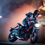 2015 Yamaha MT-07 Moto Cage Stunt Action_4