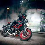 2015 Yamaha MT-07 Moto Cage Stunt Action_5