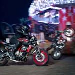 2015 Yamaha MT-07 Moto Cage Stunt Action_6