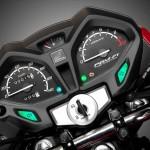 2015 Honda CB125F Display