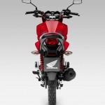 2015 Honda CB125F Rear