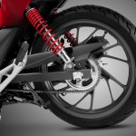 2015 Honda CB125F Rear Wheel