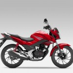 2015 Honda CB125F Red