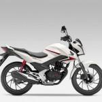 2015 Honda CB125F White