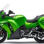 2015 Kawasaki 1400 GTR Concours Green