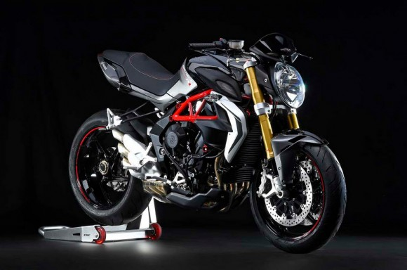 2015 MV Agusta Brutale 800 RR Metallic Avio Grey and Carbon Metallic Black