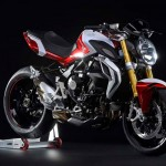 2015 MV Agusta Brutale 800 RR Pearl Shock Red and Pearl Ice White