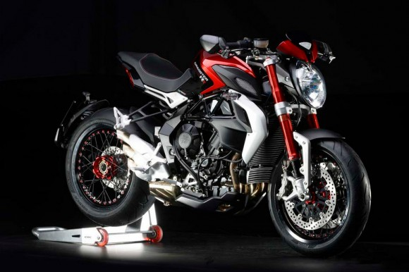 2015 MV Agusta Dragster 800 RR Pearl Shock Red with Carbon Metallic Black