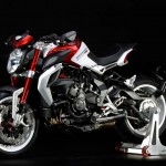 2015 MV Agusta Dragster 800 RR Pearl Shock Red with Pearl Ice White