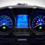 2015 Kymco Downtown 350i Instrument Display