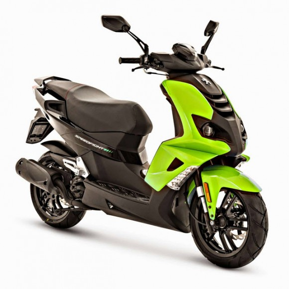2015 Peugeot Speedfight 4 Fluo Apple Green
