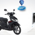 2015 Yamaha Mio M3 125 Blue Core Black