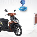 2015 Yamaha Mio M3 125 Blue Core Brown