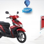 2015 Yamaha Mio M3 125 Blue Core Red