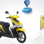2015 Yamaha Mio M3 125 Blue Core Yellow