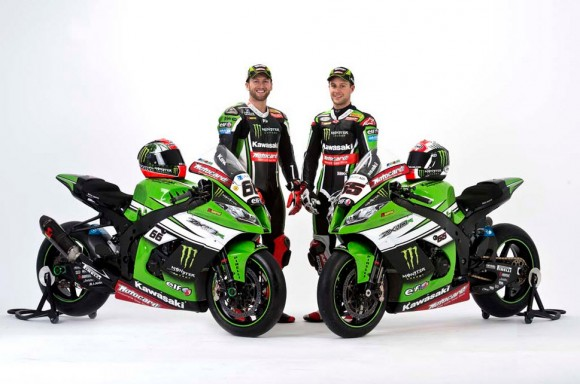 2015 Kawasaki WSBK Launched with New Livery in Barcelona