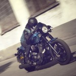2015 Yamaha XV950 Racer in Action_1