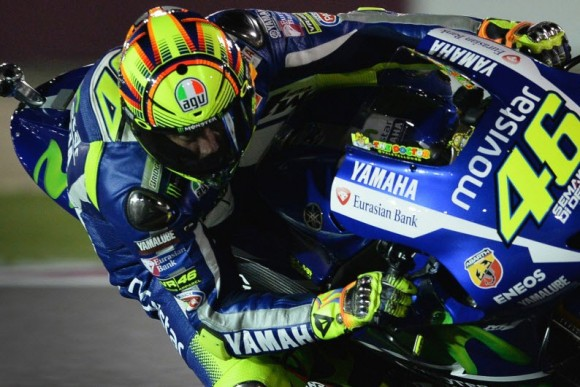 MotoGP 2015 Valentino Rossi Wins MotoGP Season Opener in Qatar
