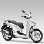 2015 Honda SH300i Pearl Cool White