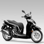 2015 Honda SH300i Pearl Nightstar Black