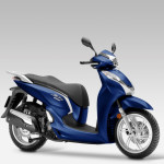 2015 Honda SH300i Pearl Pacific Blue