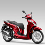 2015 Honda SH300i Pearl Siena Red