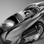 2015 Honda SH300i Under Seat Storage