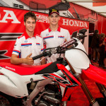 2016 Honda CRF250R and CRF450R launched at the MXGP Italy