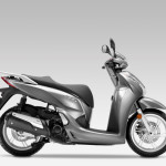 2016 Honda SH300i Scooter Moondust Silver Metallic