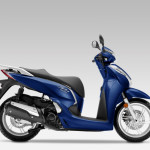 2016 Honda SH300i Scooter Pearl Pacific Blue_1