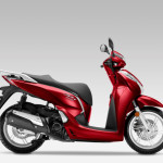 2016 Honda SH300i Scooter Pearl Siena Red_1