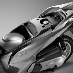 2016 Honda SH300i Scooter Seat Storage