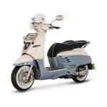 Peugeot Django Evasion 50cc Scooter Blue
