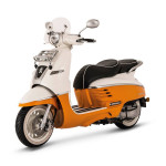 Peugeot Django Evasion 50cc Scooter Orange