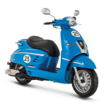 Peugeot Django Sport 50cc Scooter French Blue