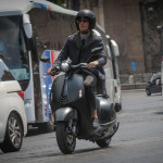 Vespa 946 Emporio Armani Luxurious Scooter on The Road_4