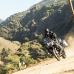 2015 Klim Badlands Motorcycle Jacket and Pant in Action