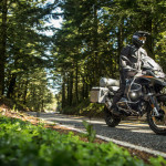 2015 Klim Badlands Motorcycle Jacket and Pant in Action_2