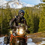 2015 Klim Badlands Motorcycle Jacket and Pant in Action_4