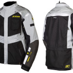 2015 Klim Badlands Motorcycle Jacket for Men Gray