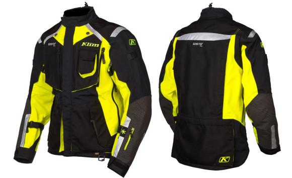 2015 Klim Badlands Motorcycle Jacket for Men Yellow