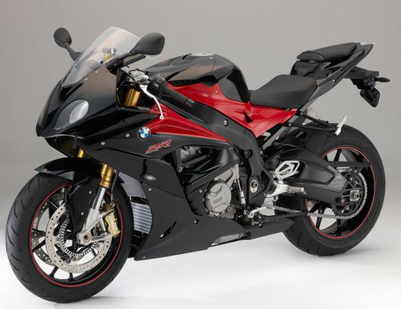 2016 BMW S1000RR Black Storm Metallic and Racing Red Non-metallic