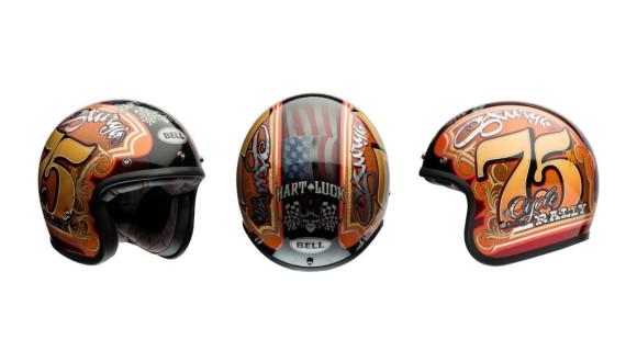 Hart Luck Bell Custom 500 Limited Edition Helmet_1